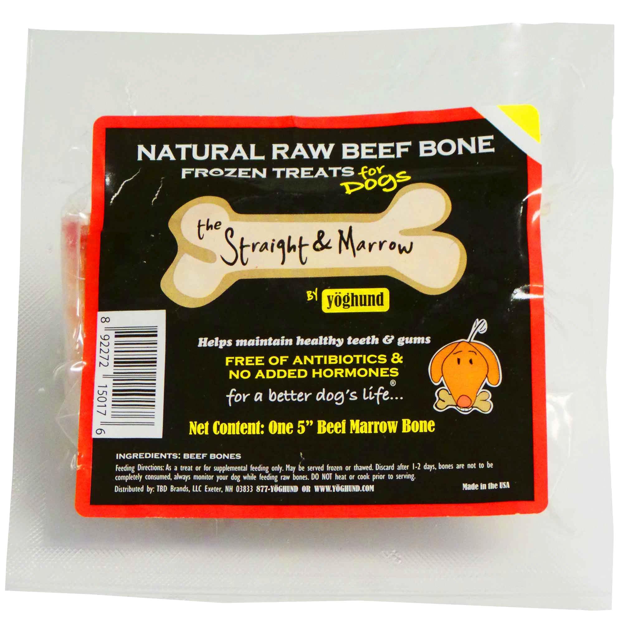 Straight & Marrow 5 inch bone