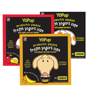 YoPup Frozen Yogurt Cups